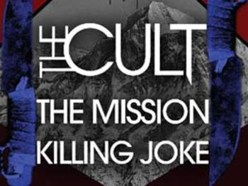 The Cult + The Mission + Killing Joke picture