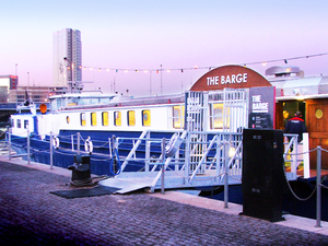 Belfast Barge artist photo
