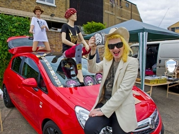 Vauxhall Art Car Boot Fair 2012: Tracey Emin, Peter Blake, Mat Collishaw, Pam Hogg, Wildcat Will picture