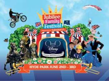 Jubilee Family Festival Presented By Sainsbury's: Myleene Klass, Jon Culshaw picture