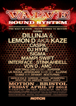Flyer thumbnail for Valve Soundsystem Bristol: Dillinja and Lemon D + Caspa + DJ Hype + Sigma + Mampi Swift + Stinkahbell + K-aze + Interface + Von D