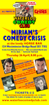 Flyer thumbnail for Waterloo Comedy Club - Comedy Crisis: Greg Burns, Stephen Carlin, Jo Selby as Tatiana Ostrakova, Ed O'Meara, Kishore Nayar