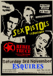 Flyer thumbnail for Classic Punk With The Pistols & The Clash From The Uk's Leading 2 Tributes.!: Sex Pistols Experience + Rebel Truce