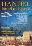Flyer thumbnail for Handel Israel In Egypt: Bristol Choral Society, Adrian Partington, Corelli Orchestra