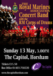 Flyer thumbnail for Concert At The Capitol Horsham: The Royal Marines Association Concert Band