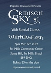Flyer thumbnail for Crimson Sky + Winter In Eden