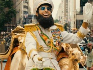 Film promo picture: The Dictator