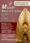 Flyer thumbnail for Mozart Mass in C minor, CPE & JS Bach: Somerset Chamber Choir