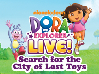 Search For The City Of Lost Toys: Dora The Explorer Live! picture