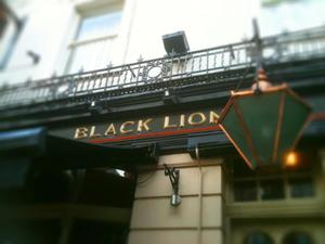 Black Lion Surbiton artist photo