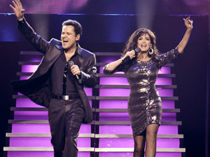 Donny & Marie Osmond artist photo
