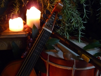 To Shorten Winter's Sadness - Music, Words & Song For Christmas & Winter: Passamezzo picture