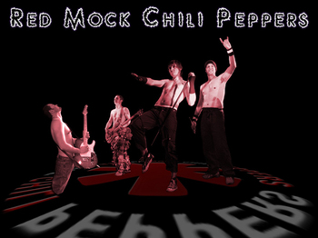 Red Mock Chilli Peppers artist photo