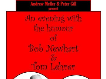 Another Evening With The Humour Of Bob Newhart & Tom Lehrer: Peter Gill & Andrew Meller picture