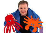 Pongo's Party: Justin Fletcher MBE, Nicole Davis artist photo