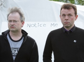 The Hobgoblin Cheltenham Comedy Festival - Pointless Anger - Righteous IRE: Robin Ince, Michael Legge picture