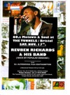 Flyer thumbnail for 60s Motown/Soul: Reuben Richards + DJ Alfie00soul
