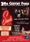 Flyer thumbnail for 20th Century Foxes At 'The Sands': Sunset Strip Swings Again!: Gavin Lazarus + The Flaming Feathers