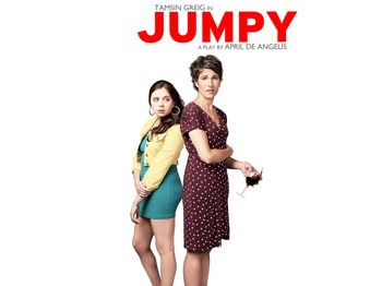 Jumpy: Tamsin Greig picture