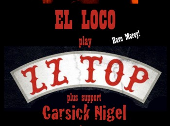 Live At The Halfmoon, Putney: EL LOCO play ZZ TOP picture