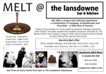 Flyer thumbnail for Melt - Chocolate & Pamper Evening!