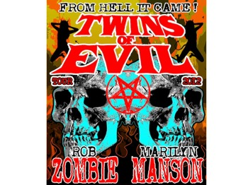 Twins Of Evil Tour: Marilyn Manson + Rob Zombie + J Devil picture