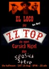 Flyer thumbnail for Live At The Halfmoon, Putney: EL LOCO play ZZ TOP