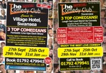 Flyer thumbnail for The Comedy Club: Wes Zaharuk, Martin Beaumont, John Ryan