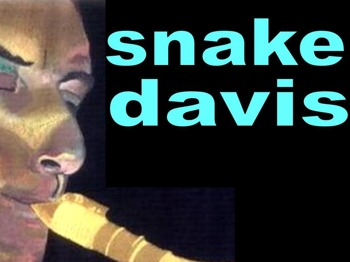 Snake Davis Band picture