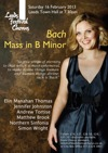 Flyer thumbnail for Bach B Minor Mass: Simon Wright, Leeds Festival Chorus, Elin Manahan Thomas, Jennifer Johnston, Matthew Brook, The Northern Sinfonia, Andrew Tortise