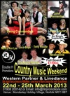 Flyer thumbnail for Country Music Weekend