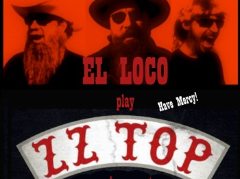 Live In Kingston: EL LOCO play ZZ TOP picture