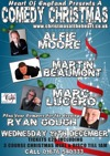Flyer thumbnail for Comedy Christmas: Alfie Moore, Martin Beaumont, Marc Lucero, Ryan Gough