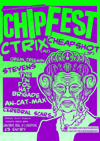Flyer thumbnail for Chipfest 7: Organ Freeman + The Tin Foil Hat Brigade + cTrix + Cheapshot + Stevens + an-cat-max + Cerebral Scars