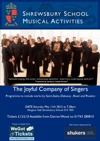 Flyer thumbnail for The Joyful Company Of Singers