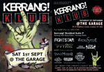 Flyer thumbnail for CBA Events Presents - Kerrang! Klub: DJ Katie P + Fightstar DJ set + Fatal Smile + Pythia + Adam Lightspeed + Criminal Records DJs + Chaos Theory + Savage Messiah + No Americana + Golden Tanks