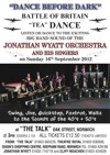 Flyer thumbnail for Dance Before Dark: The Jonathan Wyatt Big Band