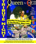 Flyer thumbnail for Tribute Night: QEII