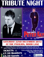 Flyer thumbnail for Tribute Night: Lee Lard's Peter Kay Tribute Show + Michael Buble Tribute