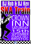 Flyer thumbnail for Ska Train: Ska Train DJs