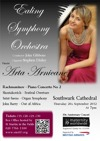 Flyer thumbnail for Maternity Worldwide 10th Anniversary Classical Concert: Ealing Symphony Orchestra, Arta Arnicane, Stephen Disley, John Gibbons