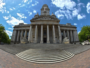Portsmouth Guildhall artist photo