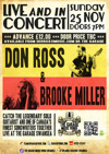 Flyer thumbnail for Don Ross + Brooke Miller