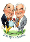 Flyer thumbnail for Blofeld & Baxter - Memories Of Test Match Special: Henry Blofeld, Peter Baxter