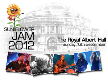 The Sunflower Jam: Bruce Dickinson, Nigel Kennedy, Alfie Boe, Ian Paice, Jeremy Irons, Brian May, Kerry Ellis picture