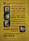 Flyer thumbnail for Punchline Presents...: Nick Helm, Josh Widdicombe, Roisin Conaty, Greg Burns