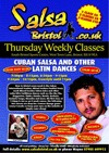 Flyer thumbnail for New 8 Week Course – Cuban Salsa & Rueda Workshops: Salsa Bristol