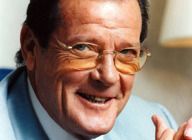 Sir Roger Moore artist photo