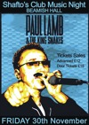 Flyer thumbnail for Shaftos Music Night: Paul Lamb And The Kingsnakes