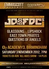 Flyer thumbnail for Emma Scott Presents: JD & The FDCs + The Glassguns + Lipshock + East Town Pirates + Questions Of Angels
